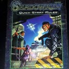 Shadowrun Quick Start Rules Book #7003 (1999, Paperback) RPG Role Playing Game
