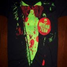 NORMA JEAN Band Tour T-Shirt Dressed Up To Get Messed Up! Suit Mens Size Small S
