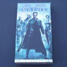 The Matrix (VHS, 1999, Collector's Edition) Keanu Reeves, Laurence Fishburne