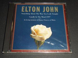 Something About the Way You Look Tonight/Candle in the Wind, 1997 Elton John NEW