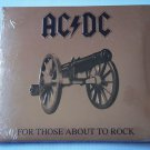 For Those About To Rock We Salute You [Remastered] by AC/DC (CD, 2003) Promo NEW