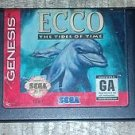 Ecco Dolphin: The Tides of Time (Sega Genesis, 1995) Video Game Cartridge Only