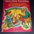 Storytime Favorites - Wonder Books Vintage 1947 Hardcover Children's Illustrated