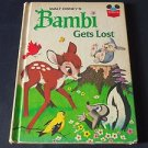 Walt Disney's Bambi Gets Lost, Vintage 1972 Hardcover Book Club Edition Vtg