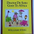 Doctor De Soto Goes to Africa by William Steig (1994, Paperback Children's Book)