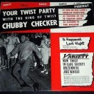 "Chubby Checker ‎- Your Twist Party, Vintage 1961 Vinyl 12"" LP Parkway P 7007"