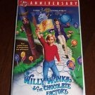 Willy Wonka and the Chocolate Factory (VHS, 1999, Remastered 25th Anniversary)