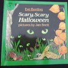 Scary, Scary Halloween by Eve Bunting (1988, Paperback) Children's Picture Book