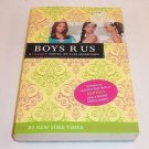 Boys R Us by Lisi Harrison (2009, Paperback Book) Clique Limited Edition Poster
