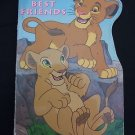 """Disney's The Lion King """"Best Friends"""" by Mary Packard (1994, Hardcover, Board)"""