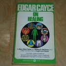 Edgar Cayce On Healing, Mary Ellen Carter 1972 Vintage Paperback, First Printing