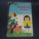 Somebody Hides by Eileen Daly, A Golden Press Vintage Children's Kids Board Book