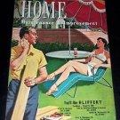 Home Maintenance & Improvement 1954 Vintage Advertising Promo Magazine Booklet