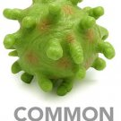 Airborne Microbes Screaming Diseases Common Cold Virus Science Geek Desk Toy NEW