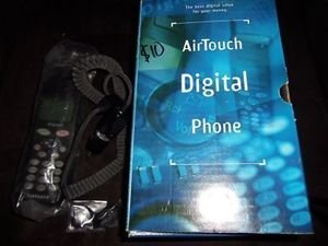 Airtouch Digital Cellular Phone Bundle w/ Box Audiovox Vintage Cellphone CDM3000