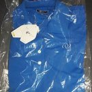 NEW Greg Norman Athletic Blue Polo Golf Shirt UV Protection Men's Size M NWT $59