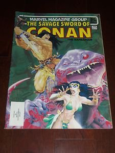 The Savage Sword of Conan The Barbarian #98 Mar 1975 Vintage Marvel Comic Book