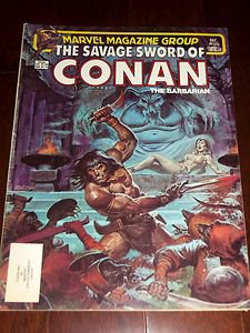The Savage Sword of Conan The Barbarian #95 Dec 1974 Vintage Marvel Comic Book