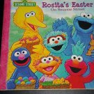 Rosita's Easter On Sesame Street (2007, Paperback Book) Dalmatian Kids Press