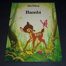 BAMBI Walt Disney Classic Series (1989, Hardcover) Gallery Twin Books 0831706813