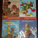 Scooby Doo! Collection of 4 Phonics Reading Program Books, Scholastic Paperback