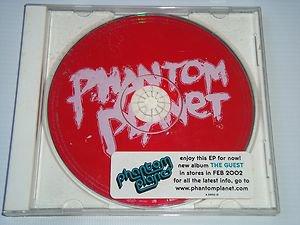 """Phantom Planet """"The Guest"""" Album Sampler (CD, 2001) Rare Promo Disc, 5 Tracks"""