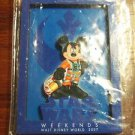 Mickey Mouse STAR WARS Weekends Walt Disney World 2007 Collectible Fridge Magnet