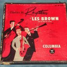"Classics in Rhythm by Les Brown and His Band of Renown 7"" Vinyl Box Set Columbia"