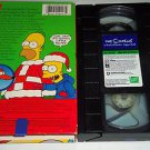 The Simpsons Christmas Special (VHS Tape, 1991) The Very First Simpsons Episode!
