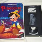 Pinocchio (VHS Movie, 1993) Walt Disney's Masterpiece Classic Children's Cartoon
