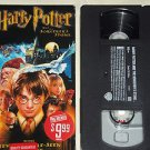Harry Potter and the Sorcerer's Stone (VHS, 2002, Includes 5 Additional Minutes)