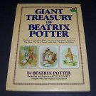 Giant Treasury of Beatrix Potter (1997, Illustrated Oversized Hardcover Book)