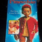 The Adventures of Pinocchio (VHS, 2000, Slipsleeve) Brand New Movie, Sealed Case
