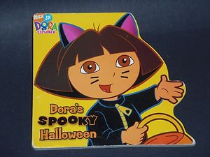 Dora's Spooky Halloween by Sonali Fry (2006 Children's Board Book) Dora Explorer