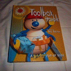 Toolbox Trouble Christine Tagg (2003, Hardcover) Busy Bugz Pop-Up Childrens Book