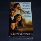 Good Will Hunting (VHS, 1998) Robin Williams Matt Damon Ben Affleck, NEW SEALED