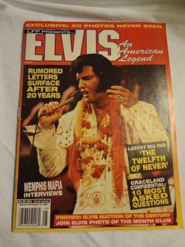 LFP Presents Elvis Presley An American Legend Collectible Magazine 1995 Vintage