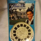 Elvis Presley GRACELAND 3D Tour Viewmaster Reel Set Collectible Toy In Box RARE