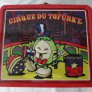 Cirque Du TOFURKY Thanksgiving Vegetarian Tofu Turkey Collectible Metal Lunchbox