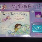 My Tooth Fairy Kit (Illustrated Hardcover Book, Gift Set) Pouch & Guiding Light