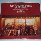"St. Elmo's Fire (Man In Motion) by David Foster & John Parr 45 RPM 7"" Vinyl 1985"