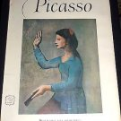 PICASSO - An Abrams Art Book, 16 Beautiful Full Color Prints Collection, Vintage