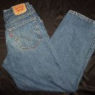 Levi Strauss 569 Loose Fit Straight Leg Denim Blue Jeans Youth Boys Sz 18 Levi's