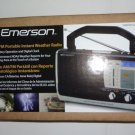 Emerson AM / FM Portable Instant Clock Radio w US NOAA Weather Band (NEW) RP6251