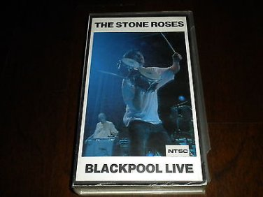 The Stone Roses - Blackpool Live Concert Video VHS Import, Silvertone Records