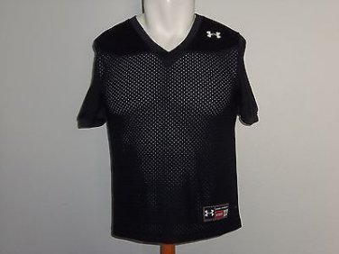 Under Armour Authentic Black Athletic Sports Uniform Top Youth Boys Size XL NWOT