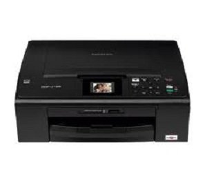 Brother DCPJ125 Color Photo Printer with Scanner and Copier