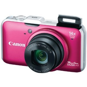 Canon Powershot SX230HS red