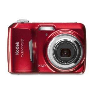 Kodak EASYSHARE C1530 14 MP Digital Camera (Red)