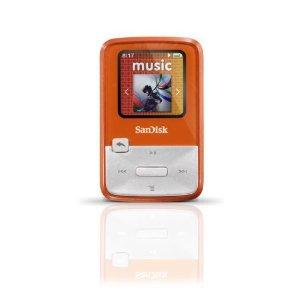 SanDisk Sansa Clip Zip 4 GB Digital player / radio - Orange